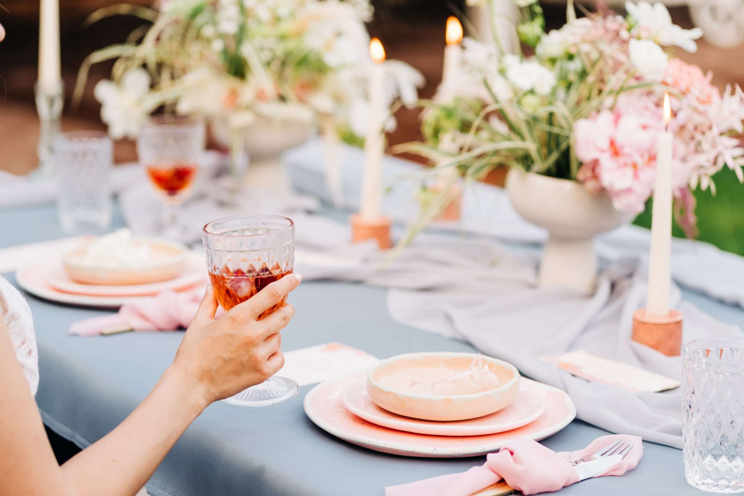 nunta cu tematica Pink sunset wedding